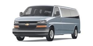 2010 Chevrolet Express Passenger Van